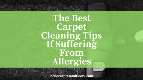Best Tips For Those Suffering of Allergies